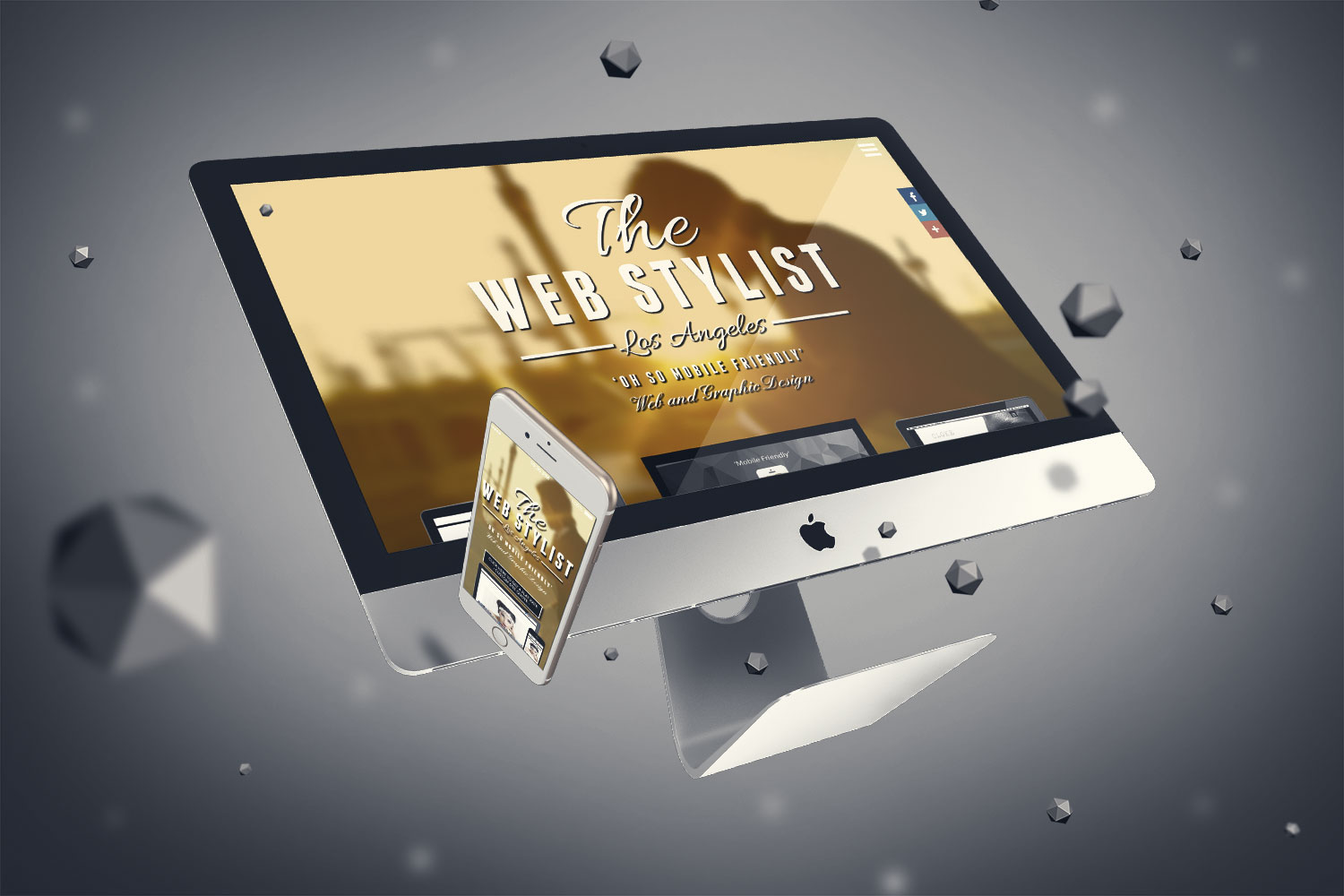 The Web Stylist Parallax Mobile Friendly